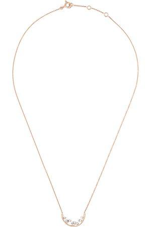 AS29 18kt rose Mye diamond necklace