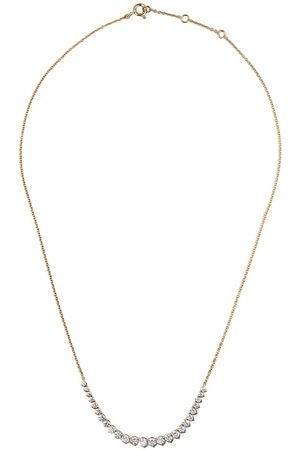 AS29 Women Necklaces - 18kt yellow Mye diamond necklace