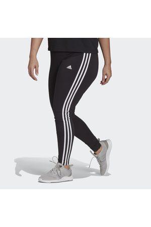 adidas Essentials 3-Stripes Leggings (Plus Size)