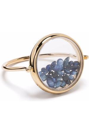 Aurelie Bidermann Women Rings - 18kt yellow Chivor sapphire ring