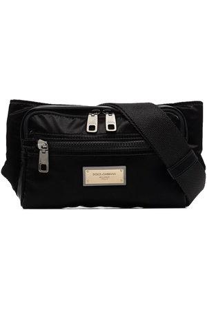 Dolce & Gabbana Nero Sicilia nylon belt bag
