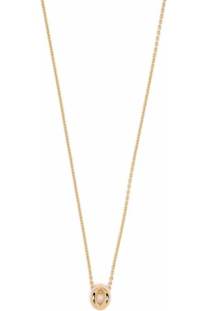 Le Gramme 18kt yellow 1g Entrelacs pendant necklace