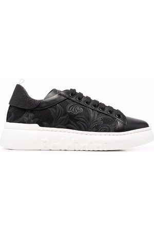 BALDININI Women Trainers - Floral embroidered sneakers