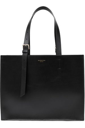 SHANGHAI TANG Women Shopper & Tote Bags - X Yuni Ahn East West leather tote bag