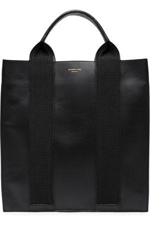 SHANGHAI TANG Women Handbags - X Yuni Ahn North South leather tote bag