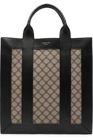 SHANGHAI TANG Women Handbags - X Yuni Ahn North South lattice tote bag
