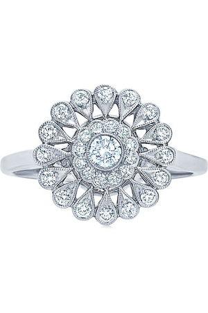 KWIAT 18kt white gold Splendor Sunray diamond ring