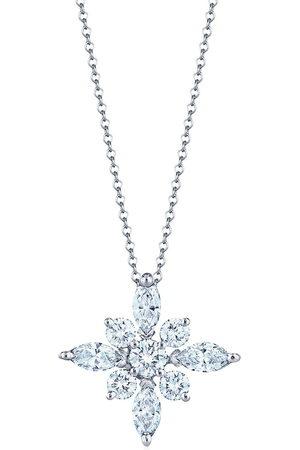 KWIAT Platinum large diamond star pendant necklace