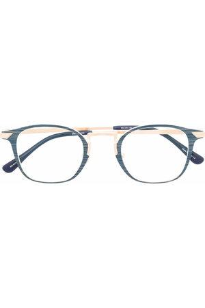 Matsuda Sunglasses - Two-tone square-frame glasses