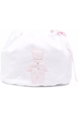 LITTLE BEAR Embroidered drawstring bag