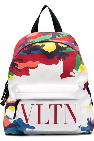 VALENTINO GARAVANI Camou7 print logo backpack