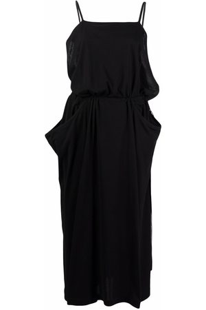 Yohji Yamamoto Pre-Owned 2000s cut-out draped dress