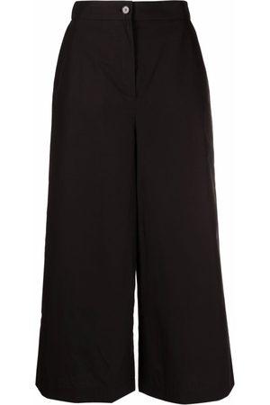 12 STOREEZ Women Wide Leg Trousers - Cropped wide-leg trousers