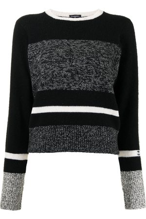 Chanel Pre-Owned 1996 striped cashmere jumper