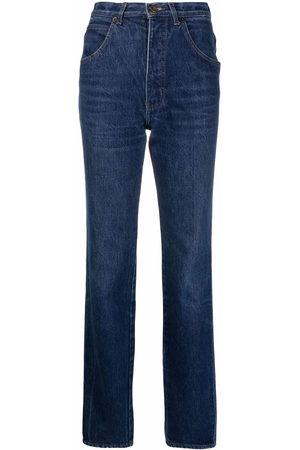 Giorgio Armani 1980s high-waisted straight-leg jeans
