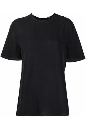 Giorgio Armani 1990s buttoned silk blouse