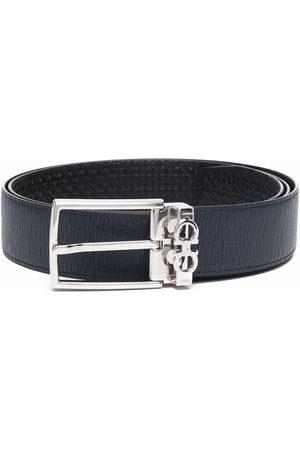 Salvatore Ferragamo Men Belts - Gancini plaque belt