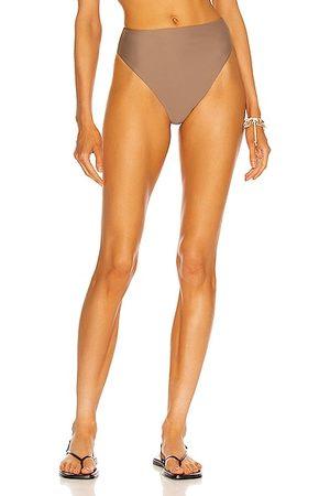 Jade Swim Incline Bikini Bottom in Nude