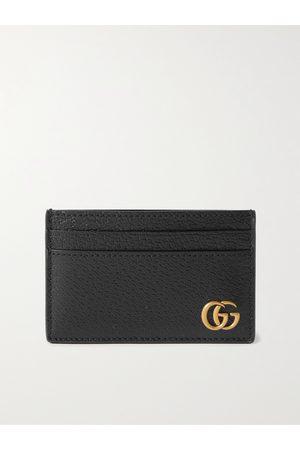 Gucci Men Purses & Wallets - GG Marmont Full-Grain Leather Cardholder