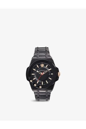 VERSACE Men Watches - VEDY00719 Chain Reaction stainless-steel and PVD quartz watch