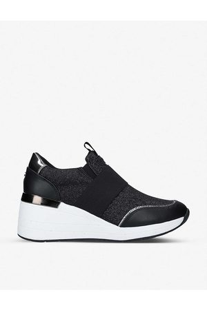 Carvela Women Trainers - Jitter embellished stretch-knit trainers