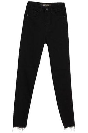 REVISE Women Trousers - DENIM - Denim trousers