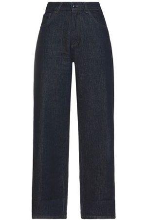 SEMICOUTURE Women Trousers - DENIM - Denim trousers