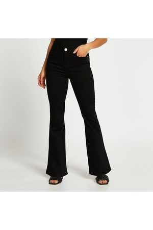 River Island Womens mid rise flare jeans