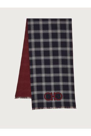 Salvatore Ferragamo Men Double sided scarf