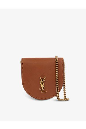 Saint Laurent Kaia Baby leather cross-body purse bag
