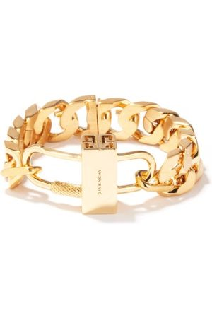 Givenchy G-chain And Padlock Bracelet - Womens