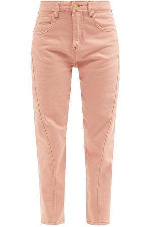 Women Trousers - Ssone - Yarrow High-rise Organic-cotton Jeans - Womens