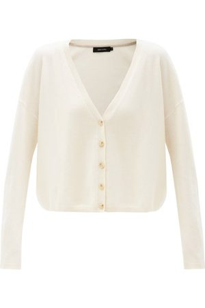 Lisa Yang Women Cardigans - Abby Cashmere Cardigan - Womens - Cream