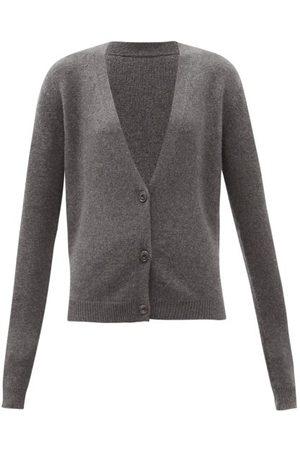 Raey Women Cardigans - Organic-cashmere Knitted Cardigan - Womens - Marl