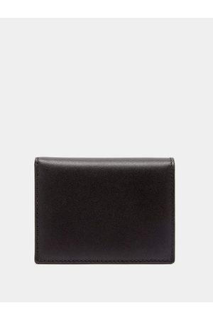 Comme des Garçons Grained-leather Bi-fold Wallet - Mens