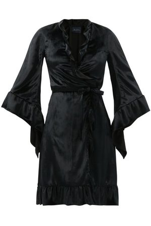 Julie De Libran Women Bathrobes - Robe De Chambre Velevet Wrap Dress - Womens