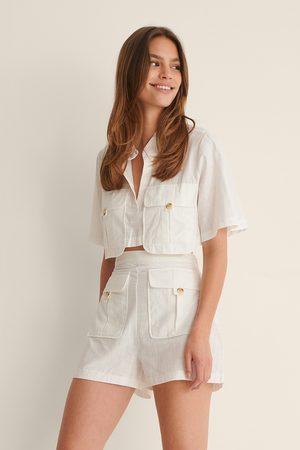 Trendyol Women Pocket Detail Set - White