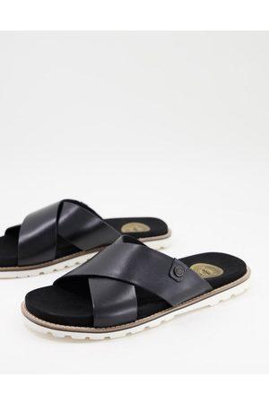 Base London Gobi leather sandals in