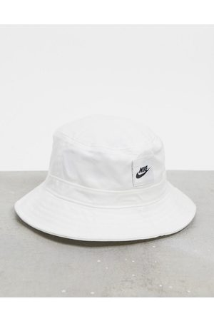 Nike Bucket hat with logo in white