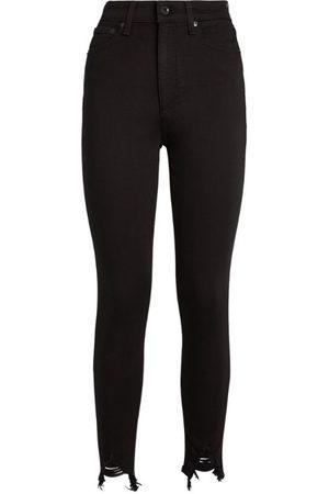 RAG&BONE Nina High-Rise Cropped Skinny Jeans
