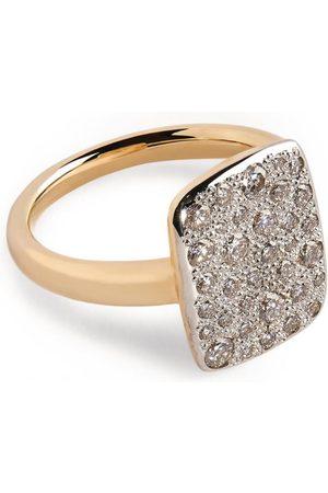 Pomellato Women Rings - Rose Gold and Diamond Sabbia Ring