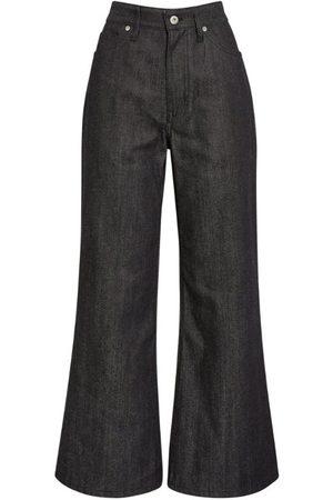 Jil Sander Contrast-Pocket Bootcut Jeans