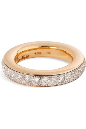 Pomellato Rose Gold and Diamond Iconica Ring (One Size)