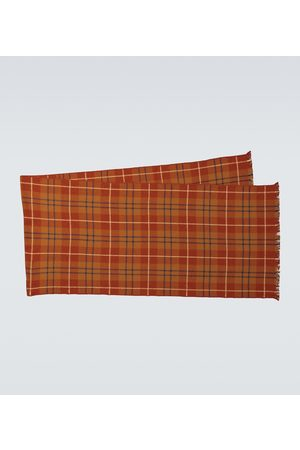 Loro Piana King's College cashmere scarf