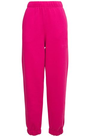 Ganni Women Trousers - Isoli Recycled Cotton Blend Sweatpants