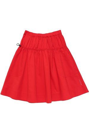 Marni Stretch Cotton Gabardine Skirt