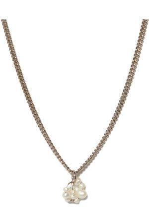 COMPLETEDWORKS Pearl & Sterling- Necklace - Mens