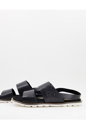 Base London Karoo strap sandals in leather