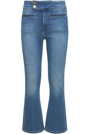 Frame Le Hardy Crop Flared Jeans
