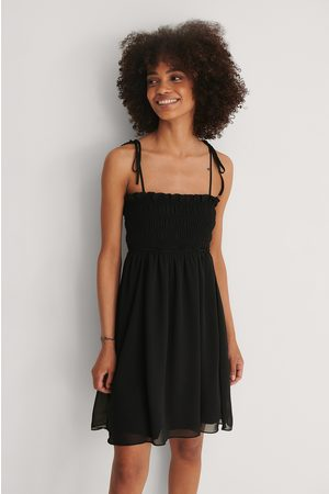 Trendyol Ruffle Mini Dress - Black
